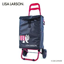 シフレ 保冷ショッピングカート リサ・ラーソン ブラックレッド リサ・ラーソン LL6 TRC4042