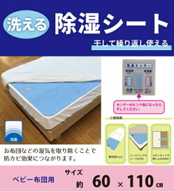 イケヒコ IKEHIKO 洗える除湿シート ベビー用サイズ [60×110cm /シングルサイズ未満]