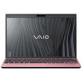 VAIO バイオ ノートパソコン SX12 ローズゴールド VJS12490511P [12.5型 /intel Core i5 /メモリ:16GB /SSD:256GB /2021年10月モデル]
