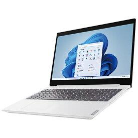 【2021年10月22日発売】 レノボジャパン Lenovo ノートパソコン IdeaPad L360i ブリザードホワイト 82HL00B9JP [15.6型 /intel Celeron /メモリ:4GB /SSD:256GB /2021年10月モデル]