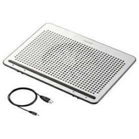 エレコム ELECOM ノートPC用クーラー [USB接続] 角度調節・強冷タイプ(15.4〜17型対応・シルバー) SX-CL22LSV[SXCL22LSV]
