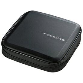 サンワサプライ SANWA SUPPLY Blu-ray/DVD/CD用セミハードケース 24枚収納 ブラック FCD-WLBD24BK[FCDWLBD24BK]