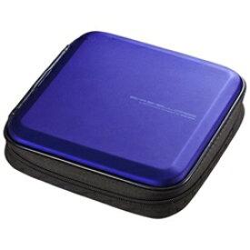 サンワサプライ SANWA SUPPLY Blu-ray/DVD/CD用セミハードケース 24枚収納 ブルー FCD-WLBD24BL[FCDWLBD24BL]