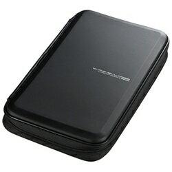 サンワサプライ 56枚収納 ブルーレイディスク対応セミハードケース (ブラック) FCD-WLBD56BK[FCDWLBD56BK]