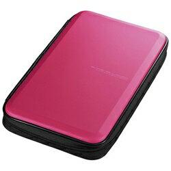サンワサプライ 56枚収納 ブルーレイディスク対応セミハードケース (ピンク) FCD-WLBD56P[FCDWLBD56P]