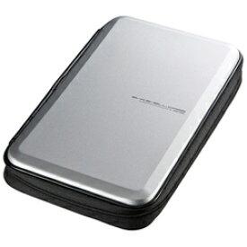 サンワサプライ SANWA SUPPLY Blu-ray/DVD/CD用セミハードケース 56枚収納 シルバー FCD-WLBD56S[FCDWLBD56S]