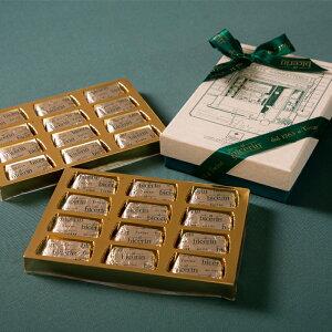 ビチェリン ポストカードボックス ジャンドゥイヤ 24個入り【父の日にも チョコレート ビジネス手土産にぴったりな人気の高級スイーツ おもたせ ギフト 個包装 ジャンドゥーヤ 高島屋店で