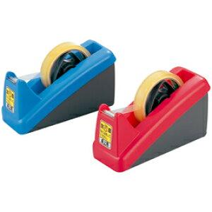 卓上テープカッター 赤【粘着テープ/セロテープ】