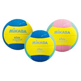 キッズドッジボール2号 黄×ピンク【運動用品/球技用品】