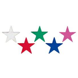 タックラベル 星 12×13mmぎん【授業/小学校/ごほうびシール/学習シール/採点/教師/教員/先生用品/シール】