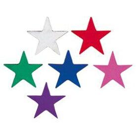 タックラベル 星 23×25mmぎん【授業/小学校/ごほうびシール/学習シール/採点/教師/教員/先生用品/シール】