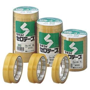 セロテープ35m12mm幅300巻【粘着テープ/セロテープ】