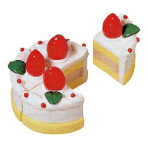 ショートケーキ(6個入)【おままごと/飯事/ごっこ遊び/室内遊具/ままごと用品】