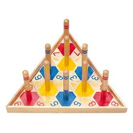 アニマル輪投げ【知育玩具/3歳/4歳/5歳/6歳/室内遊具/わなげ】