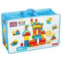 1歳からのメガブロックDXバッグ150P【大きなブロック/室内遊具/ブロック】