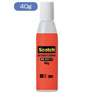 スコッチ 速く接着する工作のり 40g【のり・接着剤/液体のり】