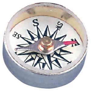 方位磁針ハトメ形50個入2直径11mm【学習用品/体験学習】
