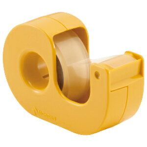 セロテープ小巻まっすぐ切れるタイプ黄【粘着テープ/セロテープ】