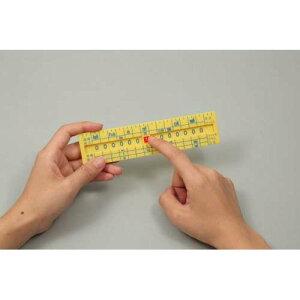 単位換算定規 あす楽対象[メール便:15](算数 単位と数 面積 体積 物の長さ 重さ 液量 平方 立方 教育)