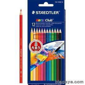 ステッドラー 水彩色鉛筆ノリスクラブ12色セット あす楽対象[メール便:50](絵具 色鉛筆・画用木炭)