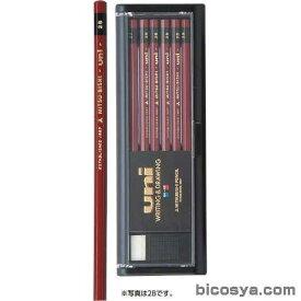 三菱鉛筆 ユニ 17硬度 12本入 2H あす楽対象[メール便:50](絵具 鉛筆・デッサン用品)