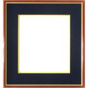 色紙額縁4152N色紙(242x273mm)紺ガラス仕様【フレーム/寄せ書き/サイン/額装】