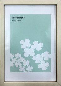 額縁 木製シンプルデザイン インテリアフレーム ホワイト Interior Frame White A4 fin-12245 壁掛け おしゃれ 日本製 あす楽
