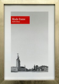 額縁 シンプルデザイン モードフレーム シルバー Mode Frame Silver A4 fmd-60094 壁掛け おしゃれ メタリック 金属色