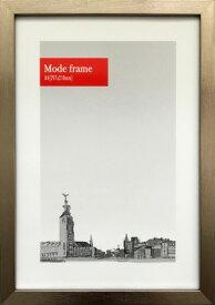額縁 シンプルデザイン モードフレーム ダークシルバー Mode Frame DarkSilver A4 fmd-60095 壁掛け おしゃれ メタリック 金属色