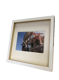 額縁 レガーロフレーム Regalo frame Gold 200x200mm(ハガキサイズマット付) frg-61639 壁掛け おしゃれ かわいい あす楽