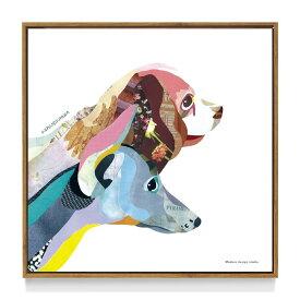 アートフレーム ほそかわ かほ ドック ND Concept Frame Kaho Hosokawa Dog ikh-60914 絵画 壁掛け おしゃれ 送料無料 あす楽