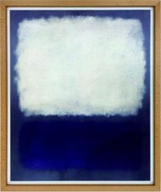 アートフレーム マーク・ロスコ Mark Rothko Blue and grey , 1962 imr-60752 絵画 壁掛け おしゃれ 送料無料