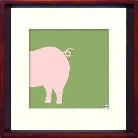 アートフレーム やすかわ としあき Modern Design Studio Pig ity-14286 絵画 壁掛け 安川敏明 北欧 モノクロ モノトーン モダン おしゃれ かっこいい あす楽