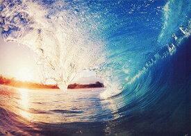 キャンバスアート Carino Canvas Art Sunrise Wave 700x500mm zpt-61753