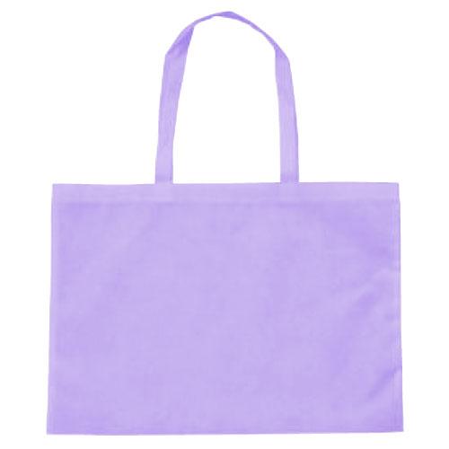 作品収納バッグ大 不織布(マチ付)薄紫 あす楽対象[メール便:80](スケッチ用具・イーゼル 多目的バッグ)