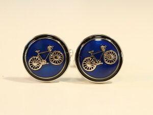 自転車モチーフギフト 送料無料!自転車カフス/おしゃれ カフスボタン/メンズ/結婚式/おもしろい カフリンクス/カフリンクス carrs/カフスボタン 自転車/カフス 自転車/カフリンクス自転車/