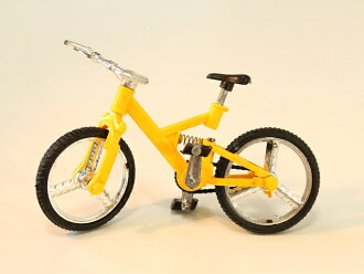 微型自行车 / 微型小工具 / 自行车微型 / 骑自行车模型 / 自行车微型 / 骑自行车模型 / 骑自行车微型小工具 /MTB 自行车自行车便宜 ♪ 微型自行车模型 MTB 迷你黄色 ♦ A0130