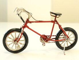 ノスタルジックデコ バイシクル 自転車 ロードバイク ミニチュア 自転車 スタンド付き/ミニチュア自転車模型/ミニチュア 自転車 置物 本物そっくり レトロモダン マニア ヴィンテージカー グッド オールド ROADBIKE ロードバイク カフェ インテリア 小物 部屋