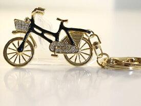 【送料無料】キーホルダー 自転車/自転車モチーフ/おしゃれ/バッグ チャーム アクセサリー キーホルダー レディース ペア パーツ 鍵 ギフト/ラインストーン