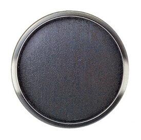 BIDOOR(ビドー) PB-424 虫喰平円丸 銀古美 サイズ大(特売)
