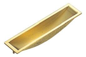 20個入 BEST(ベスト) No.350 フチナシ引手 黄銅磨き 105mm (コード350-105-2)