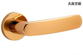 MIWA(美和ロック) MIWA ZLT 901 鏡面ゴールド 丸座空錠 ZLT901(YB)