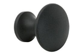 BEST(ベスト) No.354J J型つまみ 黒 25mm (コード354J-25-8) 2個入