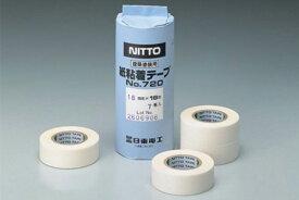 20巻入 NITTO DENKO(日東電工) ニットー No.720 塗装用和紙マスキングテ—プ 白 50mm×18m