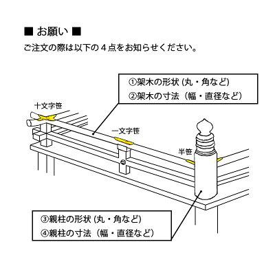 BIDOOR(ビドー)EC-21笹金物一文字形本金メッキ80号