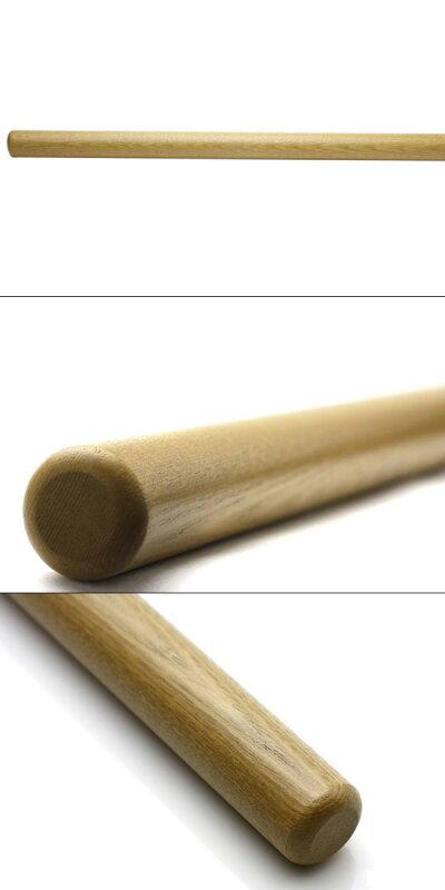 BR-35A-ライトオーク自然木丸棒(タモ)150mm2本入@316円(税抜)【納期:1-2日】