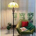 Bieye照明L10731 フロアスタンドランプ ステンドグラスランプ インテリアライト雰囲気ランプ 飾りランプ フロアスタンド フロアライト フロアランプ 癒しグッズ ロマンチック 高級ガラスランプ