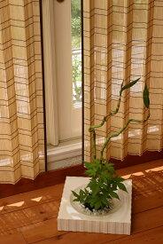竹すだれカーテン 2本組み 竹 幅約100 高さ175cm B-805 ナチュラル B-806 ブラウン 風を通す 程良い遮光性 通気性 換気 窓まわり 間仕切り 目隠し季節毎の自然のやさしい風を取り込め癒しの時間を 冬場のヒーターなど換気推奨にも幅はカーテン1本を広げた時