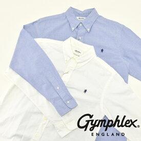 【期間限定】メンズ/ Gymphlex【ジムフレックス】J-0643 YOX オックスフォード ボタンダウンシャツ【正規取扱】2020秋冬
