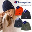 チャンピオン Champion ニットキャップ USAモデル ニット帽 ビーニー メンズ レディース ワンポイント フリーサイズ …